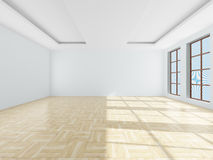 Empty room. 3D image Royalty Free Stock Image