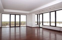 Empty Room. Of a modern apartment Royalty Free Stock Image