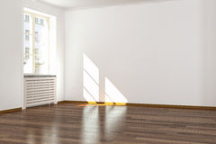 Empty room - apartment Stock Photos