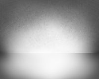 Empty room Background - grey Royalty Free Stock Photo