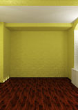 Empty room with backlight Royalty Free Stock Photography