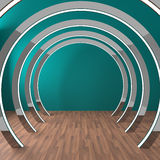 Empty Room Circle Royalty Free Stock Image
