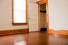 Empty room closet Royalty Free Stock Photography
