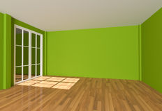 Empty room Color Wall Stock Photos