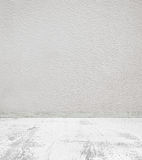 Empty room with concrete wall and stone floor royalty free stock photography