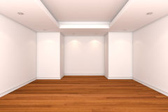 Empty room decorate color wall Royalty Free Stock Photos