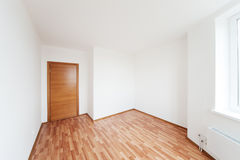Empty room with door Royalty Free Stock Images