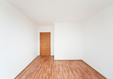 Empty room with door Royalty Free Stock Photos
