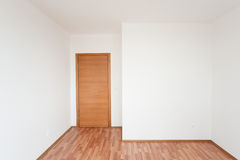Empty room with door Royalty Free Stock Photography