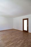 Empty room with door aside Royalty Free Stock Photography