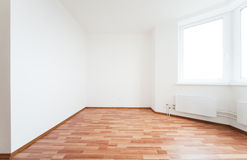 Empty room with door Royalty Free Stock Image