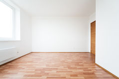 Empty room with door Stock Image