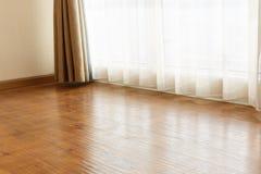 Empty room floor Stock Images