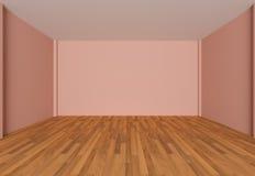 Empty room green wall Royalty Free Stock Photo