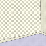 Empty Room in Halftone Royalty Free Stock Photography
