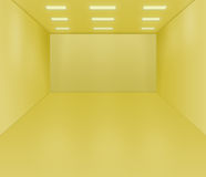 Empty Room Illustration Royalty Free Stock Photography