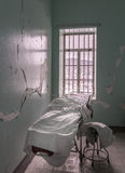 Empty room inside Trans-Allegheny Lunatic Asylum Royalty Free Stock Images