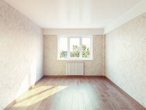 Empty room interior Stock Images