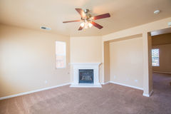 Empty Room Interior - Living Room Stock Photos