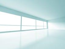 Empty Room Interior Modern Architecture Background. 3d Render Illustration Stock Images