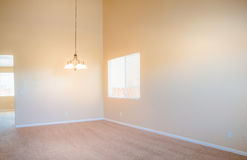 Empty Room Interior Royalty Free Stock Photos