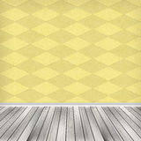 Empty room, interior with wallpaper. High resolution texture. Empty room, interior with wallpaper Stock Photography