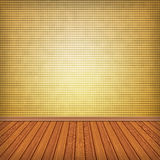 Empty room, interior with wallpaper. High resolution texture. Empty room, interior with wallpaper Royalty Free Stock Photos