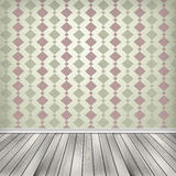 Empty room, interior with wallpaper. High resolution texture. Empty room, interior with wallpaper Stock Photo