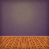 Empty room, interior. With wallpaper. High resolution texture background Royalty Free Stock Photo