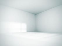 Empty Room Interior White Background Stock Photos