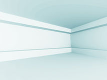 Empty Room Interior White Background Royalty Free Stock Image