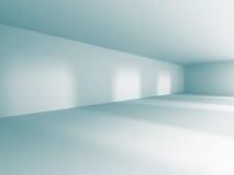 Empty Room Interior White Background. 3d Render Illustration Stock Images