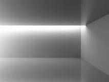 Empty Room Interior White Background. 3d Render Illustration vector illustration