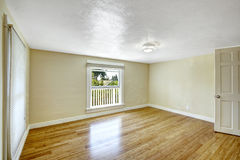 Empty room in ivory tone Royalty Free Stock Photos