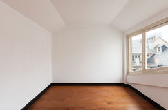 Empty room of a loft Royalty Free Stock Photo