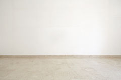 Empty room with marble floor Stock Photo
