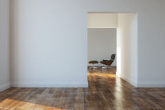 Empty room in a modern house Stock Photo