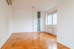 Empty room in modern house Stock Image