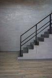 Empty room modern loft Stock Photo