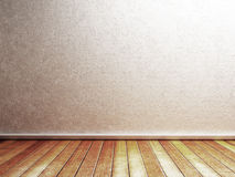 Empty room in the muted colors Royalty Free Stock Images