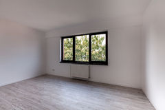 Empty room in a new apartment Royalty Free Stock Images