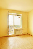 Empty room in new house Royalty Free Stock Photography