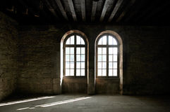 Empty room. In an old house Royalty Free Stock Photography