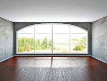 The empty room with old wall Royalty Free Stock Image