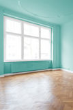 Empty room after renovation royalty free stock images