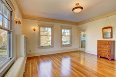 Empty room in soft ivory Royalty Free Stock Photo