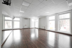 Empty room in the sport club. Fitness room in the luxury sport club Stock Photography