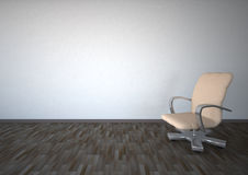 Empty Room Swivel Chair Royalty Free Stock Images
