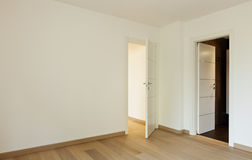 Empty room with two doors Royalty Free Stock Image