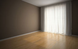 Empty room in waiting for tenants Royalty Free Stock Photos